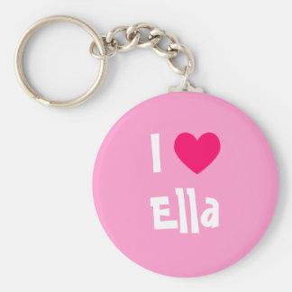 Ik houd van Ella Sleutelhanger