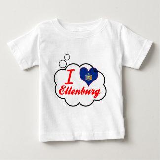Ik houd van Ellenburg, New York T Shirts