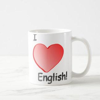Ik houd van Engelse mok