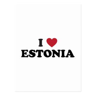 Ik houd van Estland Briefkaart