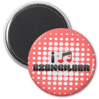 Ik houd van Ezengileer Magneten