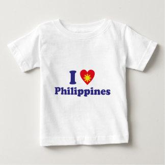 Ik houd van Filippijnen Baby T Shirts