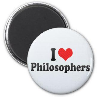 Ik houd van Filosofen Magneet