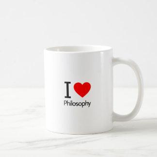 Ik houd van Filosofie Koffiemok