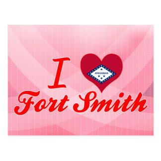 Ik houd van Fort Smith, Arkansas Briefkaart
