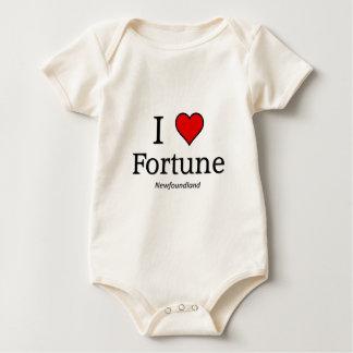 Ik houd van Fortuin Baby Shirt