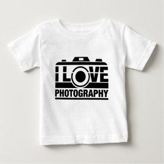 Ik houd van Fotografie Baby T Shirts