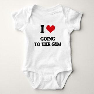 Ik houd van gaand naar de Gymnastiek Romper
