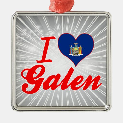 Ik houd van Galen, New York Kerstboom Ornament