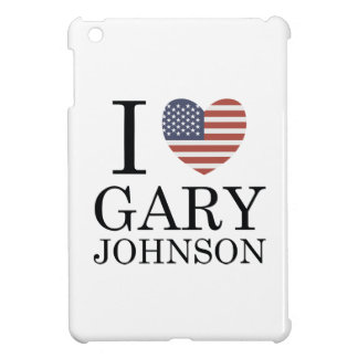 Ik houd van Gary Johnson iPad Mini Cases