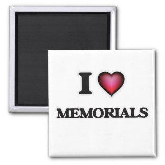 Ik houd van Gedenktekens Magneet