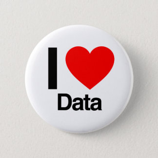 ik houd van gegevens ronde button 5,7 cm