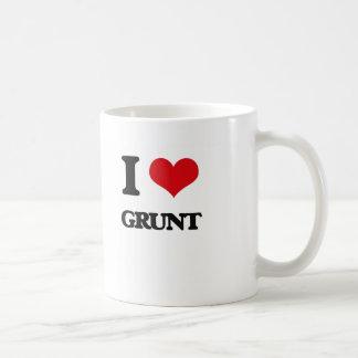 Ik houd van Gegrom Koffiemok
