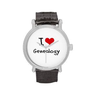 Ik houd van Genealogie Horloge