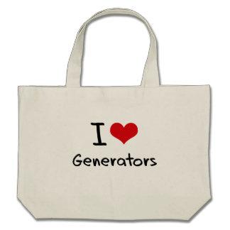 Ik houd van Generators Draagtas