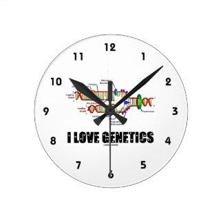Ik houd van Genetica (de Replicatie van DNA) Ronde Klok