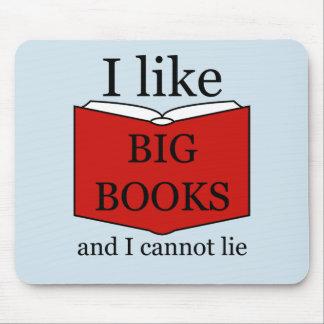 Ik houd van Grote Boeken Muismat