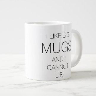 Ik houd van Grote Mokken. Kan liggen niet Grote Koffiekop