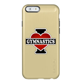 Ik houd van Gymnastiek Incipio Feather® Shine iPhone 6 Hoesje