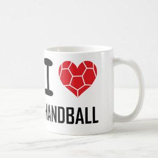 Ik houd van handbal koffiemok
