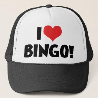 Ik houd van Hart Bingo! - Minnaars Bingo Trucker Pet