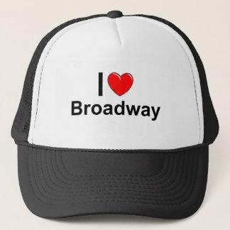 Ik houd van Hart Broadway Trucker Pet