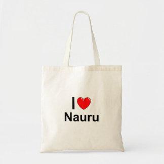Ik houd van Hart Nauru Draagtas