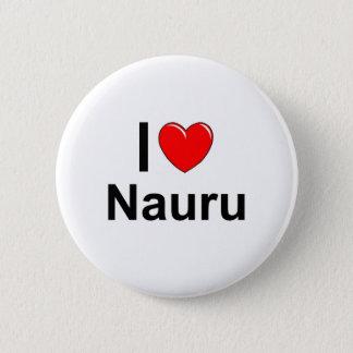 Ik houd van Hart Nauru Ronde Button 5,7 Cm