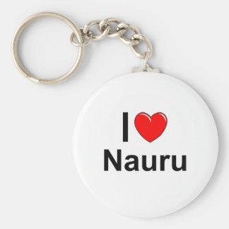 Ik houd van Hart Nauru Sleutelhanger