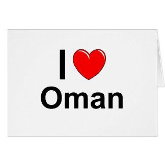 Ik houd van Hart Oman Briefkaarten 0