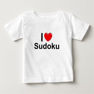 Ik houd van Hart Sudoku Baby T Shirts