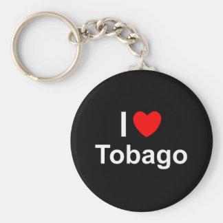 Ik houd van Hart Tobago Sleutelhanger