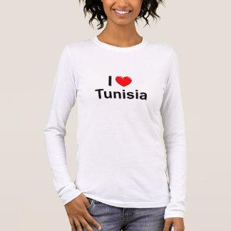 Ik houd van Hart Tunesië T Shirts