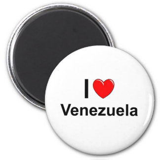 Ik houd van Hart Venezuela Magneet