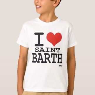 Ik houd van Heilige Barth - St Barthelemy T Shirt