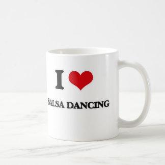 Ik houd van het Dansen Salsa Koffiemok