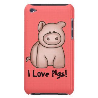 Ik houd van het Hoesje van Varkens iPod