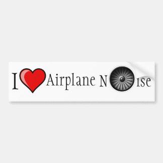 Ik houd van het Lawaai van het Vliegtuig Bumpersticker