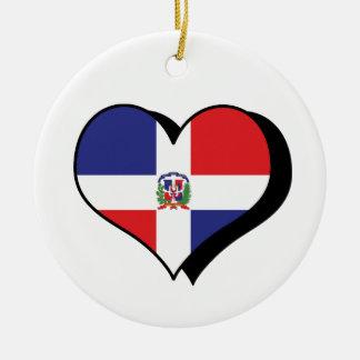 Ik houd van het Ornament van de Dominicaanse