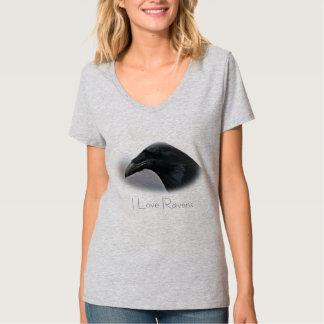 Ik houd van het overhemd van het T-shirt van Hanes