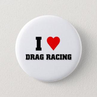 Ik houd van het rennen van de Belemmering Ronde Button 5,7 Cm