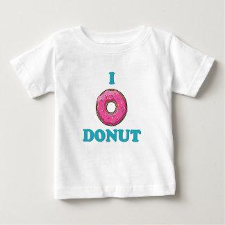 Ik houd van het Roze Ontwerp van de Doughnut Baby T Shirts