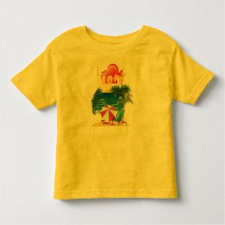 Ik houd van het strand in de zomer kinder shirts