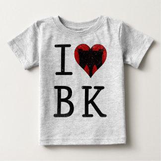 Ik houd van het T-shirt NYC van Brooklyn BK