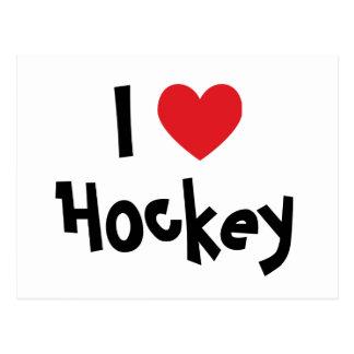 Ik houd van Hockey Briefkaart