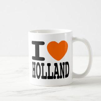 Ik houd van Holland Basic Witte Mok