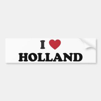 Ik houd van Holland Bumpersticker