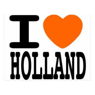 Ik houd van Holland Wenskaart