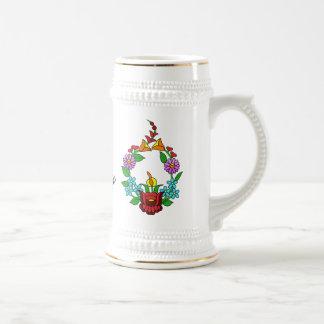 Ik houd van Hongarije (Kalocsai) Koffie Beker