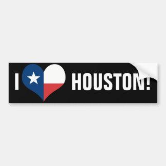 Ik houd van Houston Bumpersticker